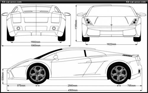 Lamborghini Gallardo Dimensions 2017 Ototrends Net