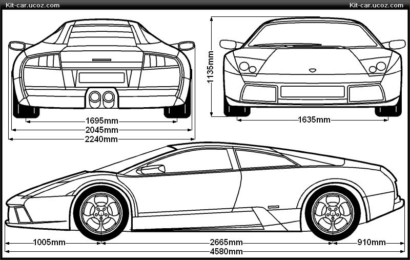 Lamborghini murcielago blueprint lamborghini murcielago blueprint malvernweather Images