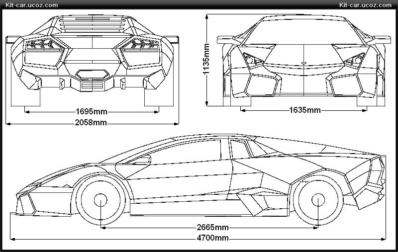 Lamborghini reventon blueprint lamborghini reventon blueprint malvernweather Images