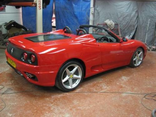 All For Car Replicas Ferrari 360 Spyder Build 1